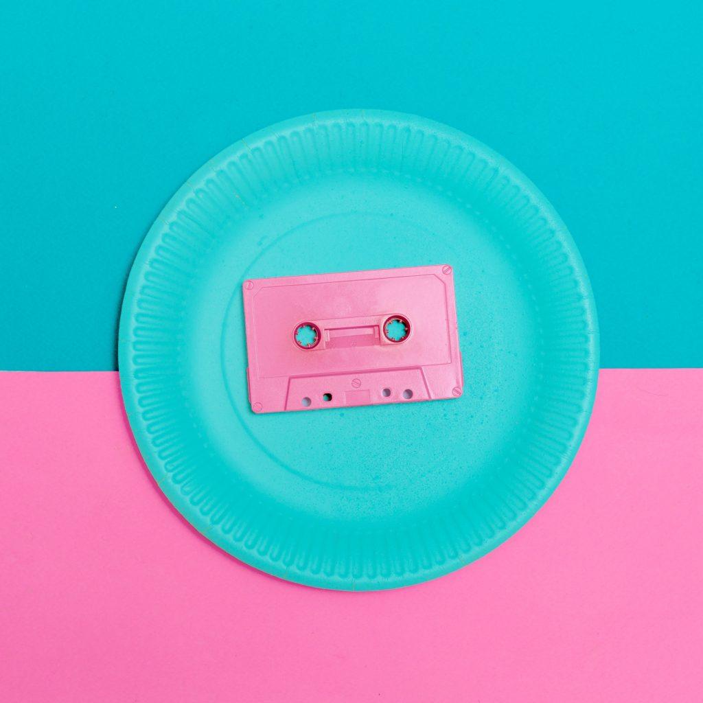 Audiocassette Vintage Minimal Design